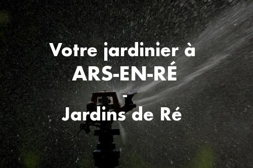 Jardinier Ars-en-Ré