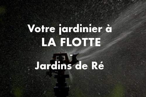 Jardinier La Flotte