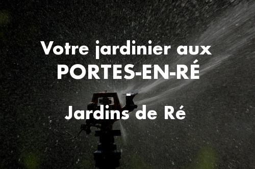 Jardinier Les Portes-en-Ré