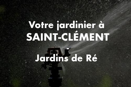 Jardinier Saint-Clément-des-Baleines
