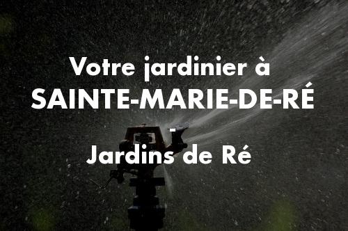 Jardinier Sainte-Marie-de-Ré
